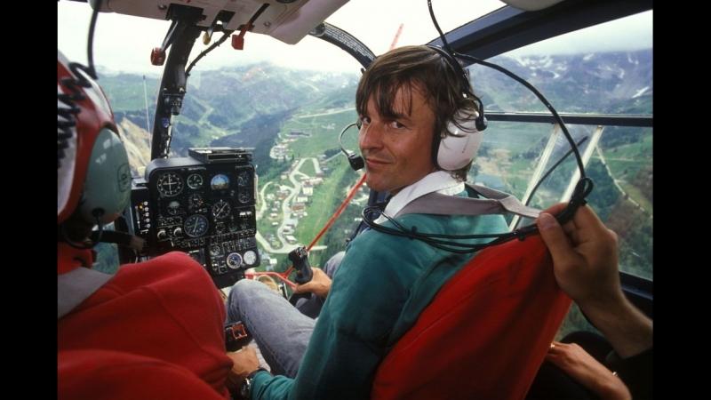 Petit retour en 1991 Nicolas Hulot ! oui, pour rentrer chez moi, je prend un hélico perso pour faire 50 kms !