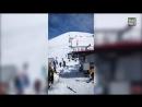 Гудаури, Грузия. Трагедия на канатке. Gadauri, Georgia. Tragic accident on the ski lift