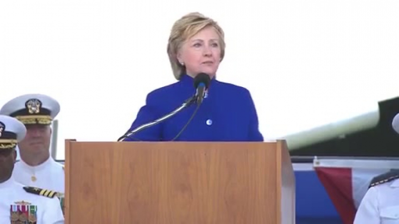 Hillary Clinton Honors Giffords At Navy Commissioning - Full Speech