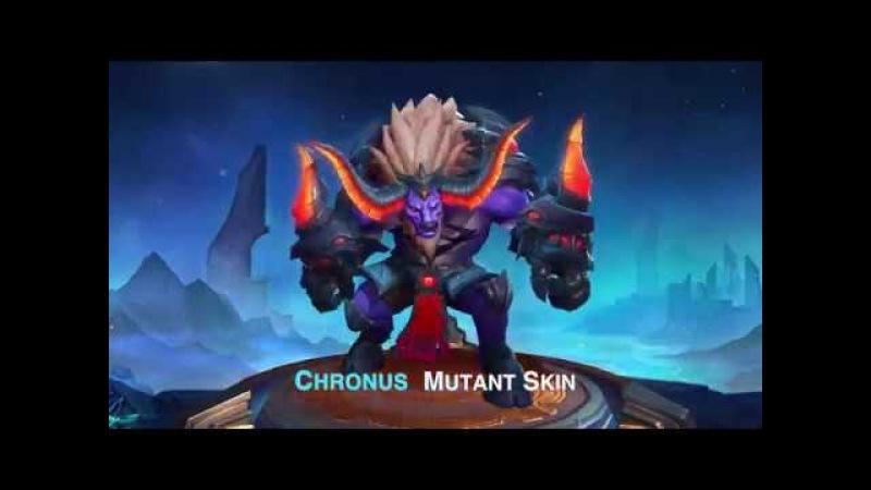 New Skin - Chronus Mutant(Season 6 reward)
