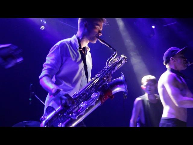HeartBeat Brass Band - Dubstep (backstage, club SENTRUM)