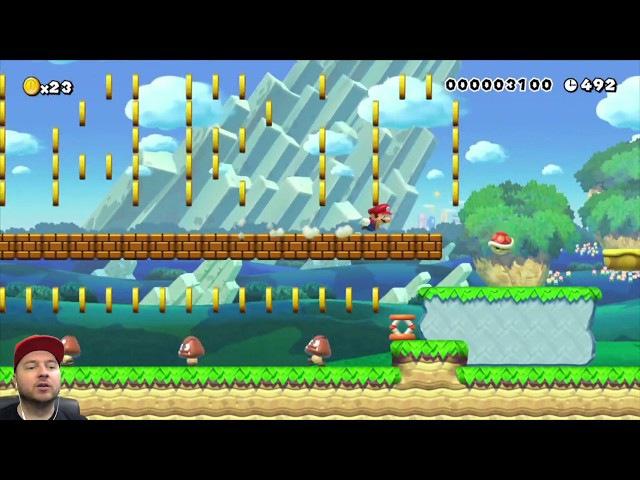 Super Mario Maker: сверхскорость