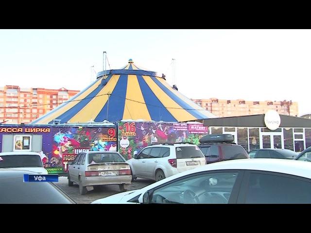 В Уфе открылся цирк-шапито «Триумф» (2017) FHD
