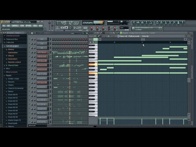 Halo 3 One Final Effort Fruity Loops Studio 9 XXL Producers Edition Final version