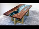 Live Edge River Table   Woodworking How-To