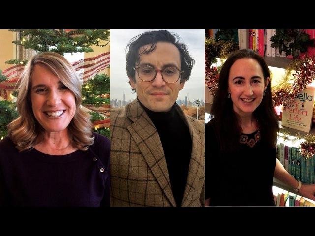 Зарубежные авторы Эксмо поздравляют с Новым Годом