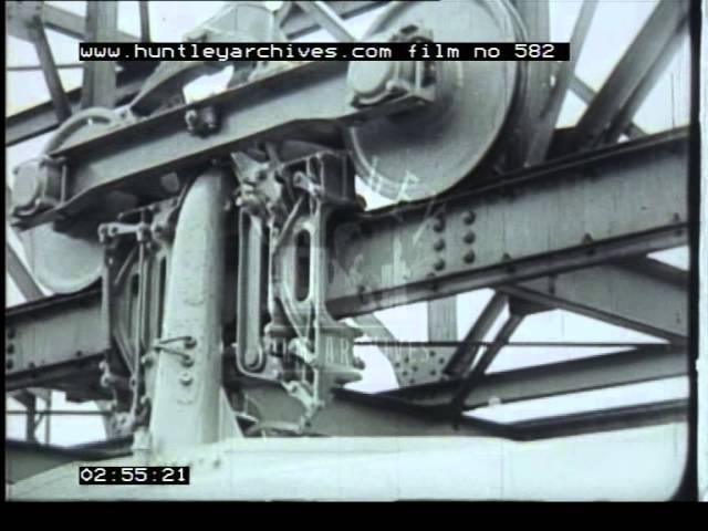 Bennie Monorail, 1930's - Film 582
