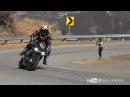 Elbow Dragging Close Call Street Riding POV Harley Stunt Rider