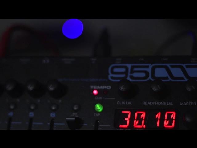Russ Gabriel EHX 95000 Test Studio Jam Session