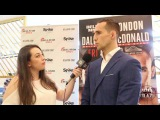 Rory MacDonald aims to 'beat the sht out of' Paul Daley at Bellator 179