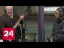 Грудинин разгоняет журналистов, Жириновский стреляет в тире. Вести от 15.02.2018