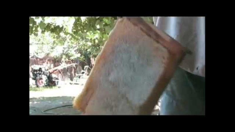Зважування української гніздової рамки з медом. Відео для друга і брата Олександра