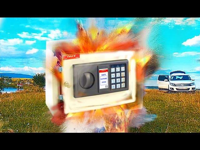 Was passiert wenn ein Böller im Tresor explodiert