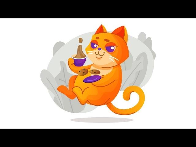 Рисуем котика в Adobe Illustrator