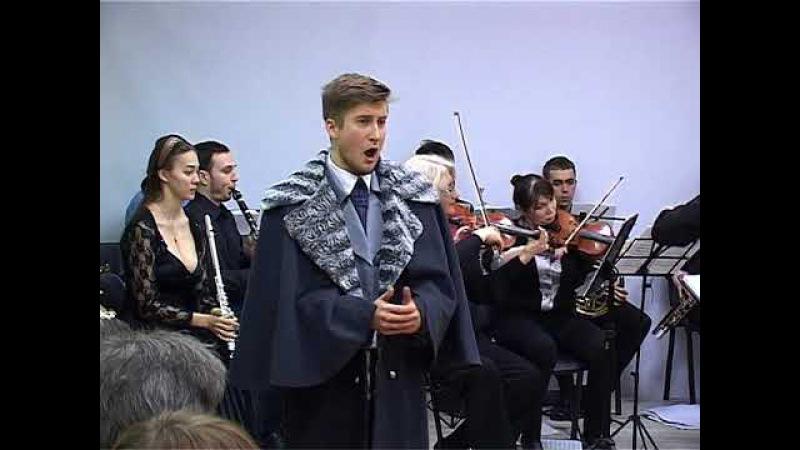 Дмитрий Миронов Ария Ленского из оперы П.И. Чайковского Евгений Онегин