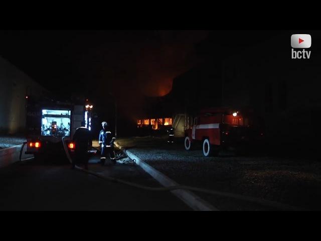 Пожежників нагородили за ліквідацію пожежі на «Біофармі»