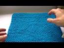Как вязать платочной вязкой по кругу спицами,чтобы переход между рядами был пла