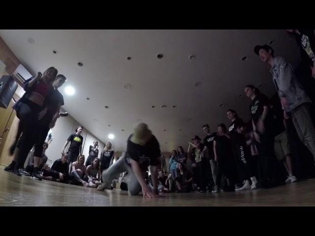 Lady WhyNot? Tosh vs Ваня Ариша   All Styles 1x1   Twerkachu Birthday Party