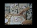 Скульптурная(обьемная) живопись , нанесения цветов Магнолии .