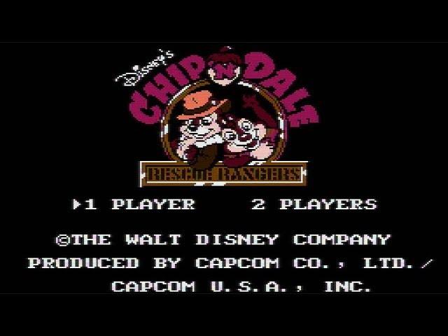 Chip 'N Dale Rescue Rangers прохождение 1080p(HD)