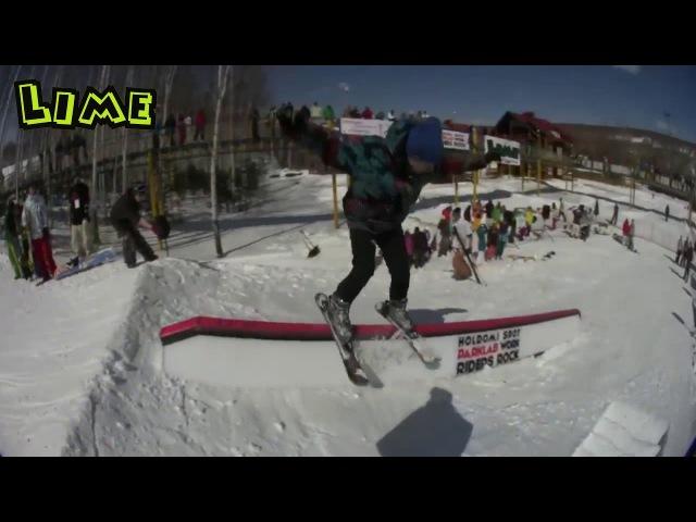 LIME is... сноуборд фристайл!
