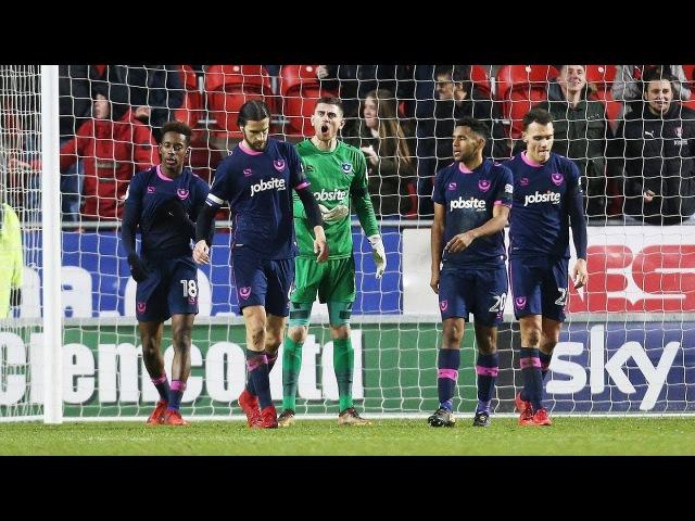 Highlights: Rotherham United 1-0 Portsmouth