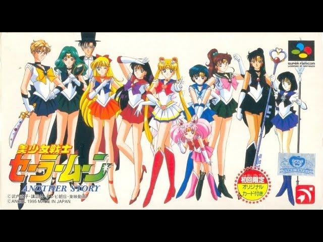 Sailor Moon: Another Story/Сейлор Мун: Другая История - Сегодня в 18ж15 (Прохождение на SNES)