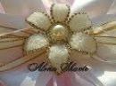 Серединки цветочки для бантиков своими руками Канзаши Легко Просто Alena Shavtr