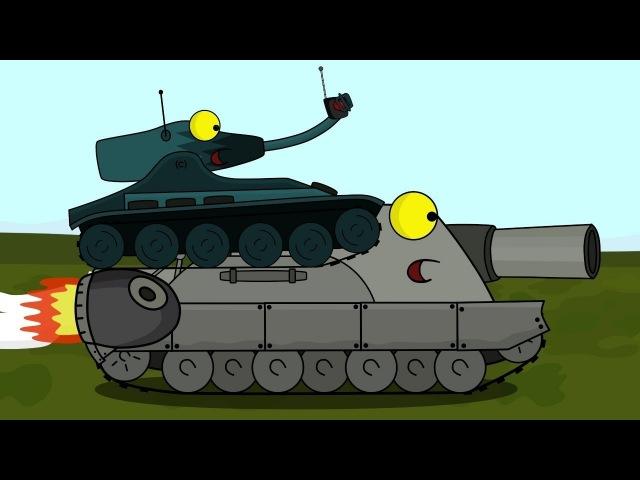 Турбо ШтурмТигр Мультики про танки