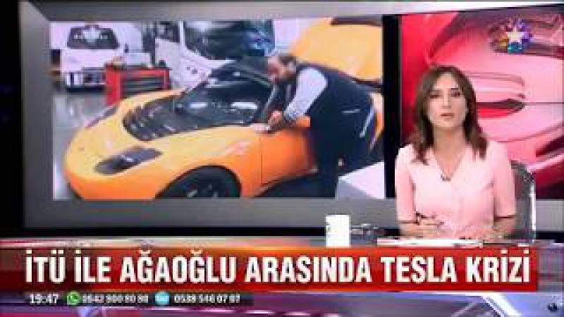 Ali Ağaoğlu ile İTÜ arasında Tesla otomobil krizi