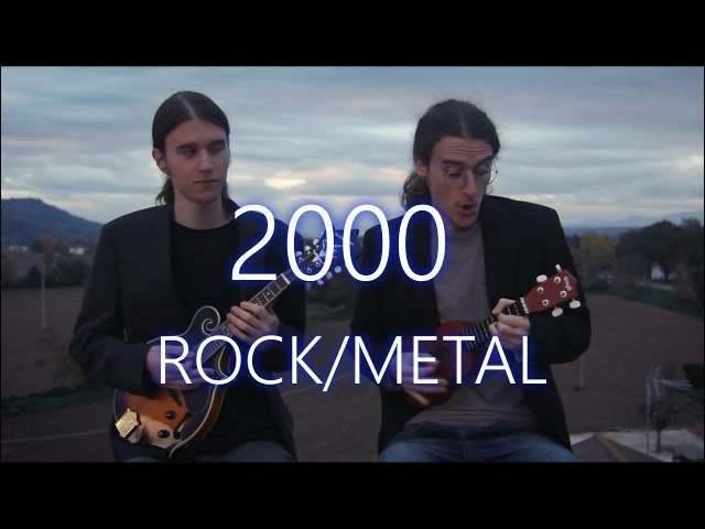 Year 2000 in 2 minutes (ROCK/METAL)