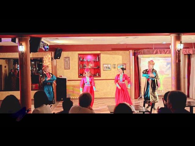 Калмыцкий народный танец. Отрывок. Творческий вечер Людмилы Бадмаевой!