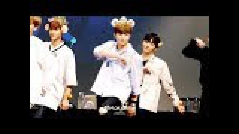 170813 워너원 앨범 발매 기념 팬사인회(@누리꿈스퀘어) 엔딩 퍼포먼스 4K 직캠