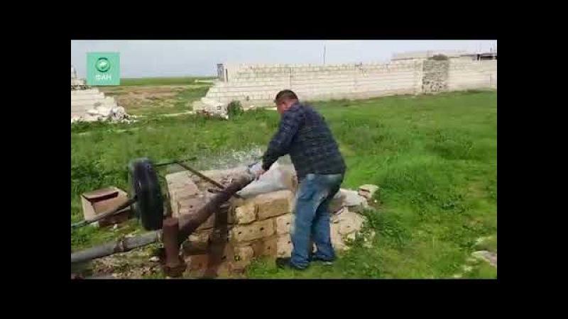 Сирия восстанавливает Идлиб: ремонтные бригады налаживают подачу воды в дома жителей — видео ФАН