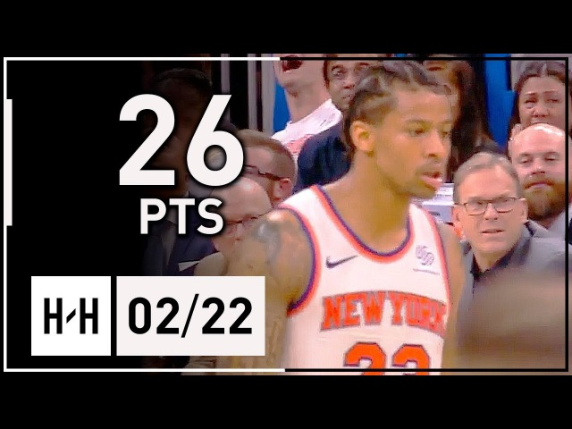 Trey Burke Full Highlights Knicks vs Magic (2018.02.22) - 26 Points, 6 Ast off the bench!