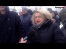 Железнодорожники Кременчуга требуют возврата поездов в Москву, Харьков и Львов