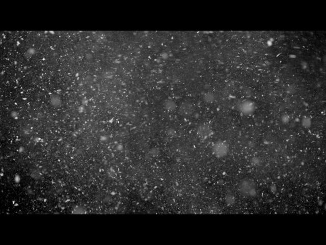 Футаж Снег 5