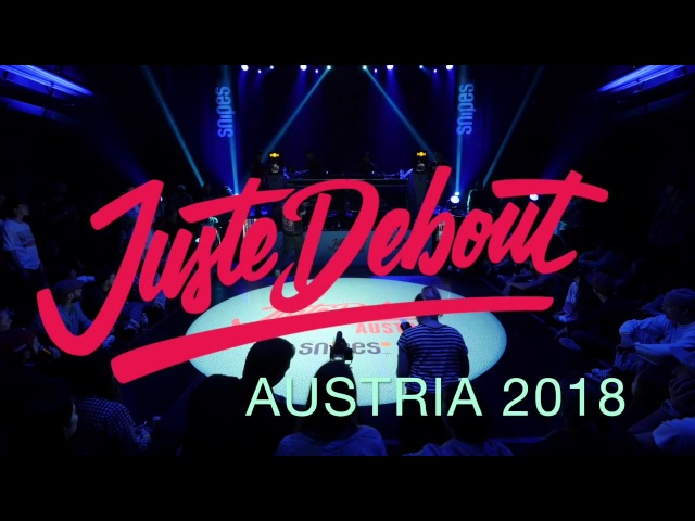 Juste Debout Austria 2018 Judge Demos | Dedson Rashaad Rickysoul Tash | Danceproject.info