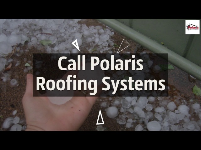Hail Roof Damage Repair Replacement Flagstaff Arizona - Polaris Roofing Systems