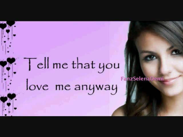 Tell Me That You Love Me Lyrics Victoria Justice Ft Leon Thomas III