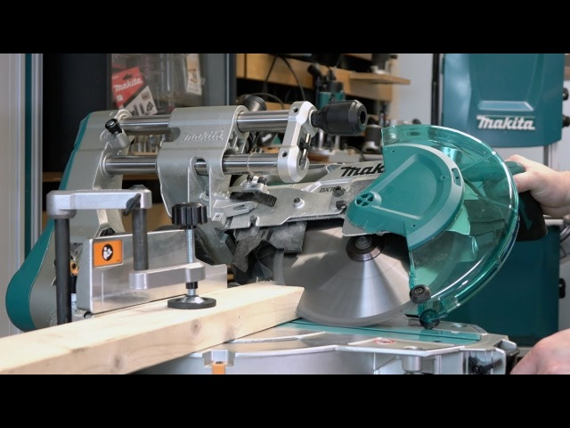 Makita DLS110 36v Brushless Slide Compound Mitre Saw - Go to the Next Level