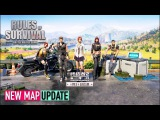 Rules of Survival - NEW MAP UPDATE (NEW CARSWEAPONS)