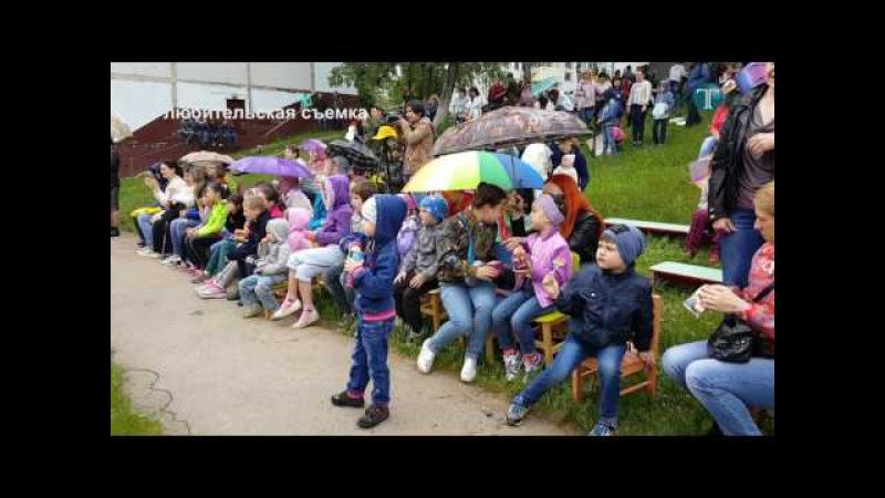 В г.п. Калининец состоялись праздничные мероприятия ко Дню защиты детей
