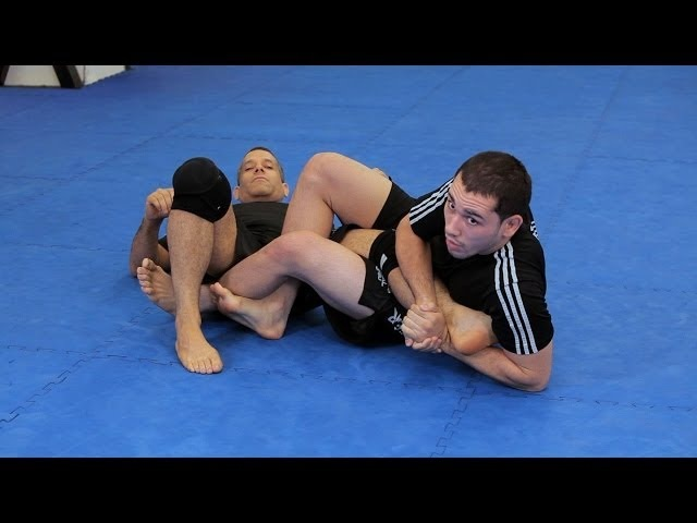 How to Do a Flying Scissor Heel Hook | MMA Submissions