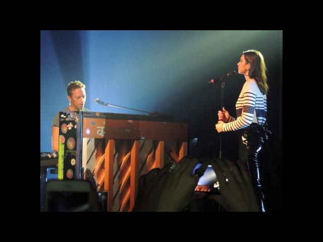 Dua Lipa and Chris Martin Homesick live in Sao Paulo Brazil 11 09 17 HD
