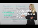 Countable and Uncountable Nouns - English Grammar with Julia