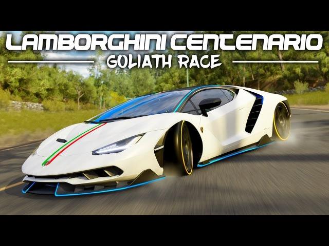 Forza Horizon 3 Lamborghini Centenario Goliath Race