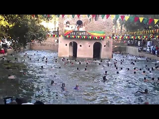 2015 Timkat Celebration - Falisades Bath, Gondar, Ethiopia