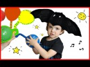 Finger Family Song for Learn Colors with Balloons Baby Makar plays