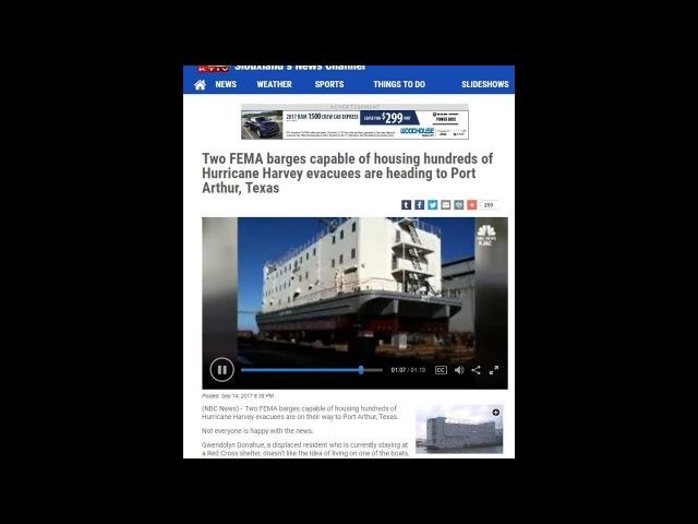 FEMA (ФЕМА): концлагеря, передвижные тюрьмы, пластиковые гробы...